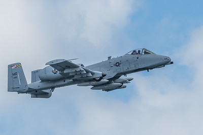 A-10 C Warthog from the 175th Fighter Wing based at Martin State Airport, Middle River, MD
