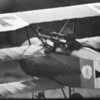 Cole Palen as the Black Baron in his Fokker Tri-plane