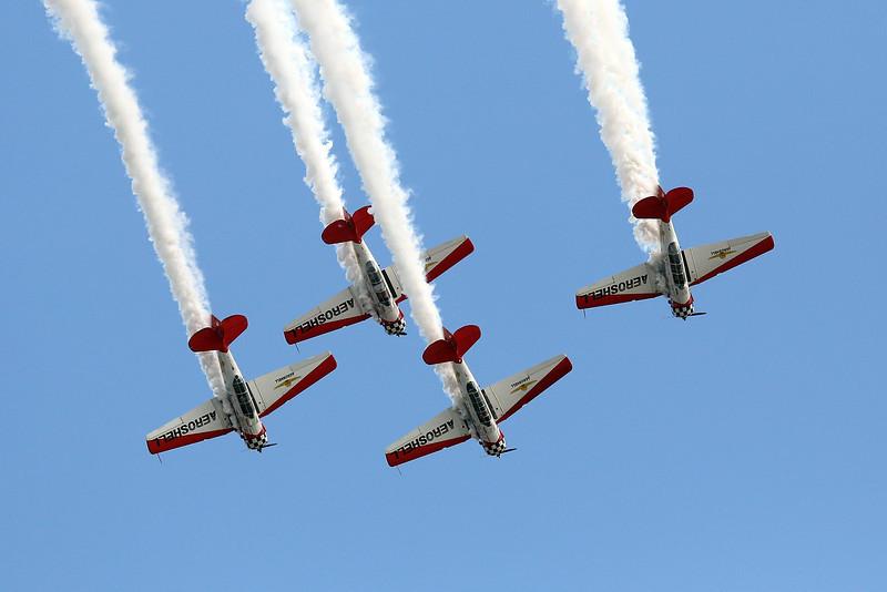 AeroShell team at Oshkosh 2012