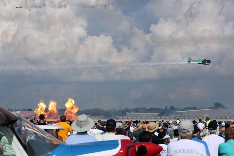 Tora Tora Tora re-enactment at the EAA Air Adventure 2012