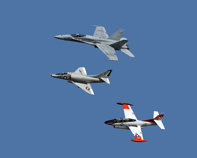 Jet fly-by at the EAA Air Adventure 2012