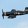 Chance Voutht F-4U Corsair over Oshkosh during the EAA Air Adventure 2012