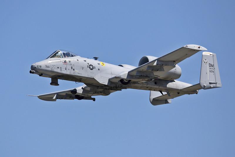 A-10 Thunderbolt II at the EAA Air Adventure 2012, Oshkosh, Wisconsin