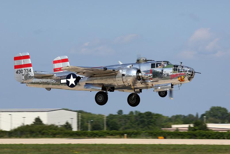 "North American B-25 bomber ""Panchito"" at the Oshkosh Air Adventure 2012"