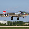 "North American B-25 bomber ""Panchito"" at the Oshkosh Air Adventure 2012"