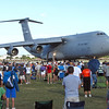 Lockheed C-5 arrives at Oshkosh