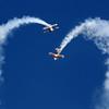 The Iron Eagle Aerobatic Team performing at Oshkosh 2012.