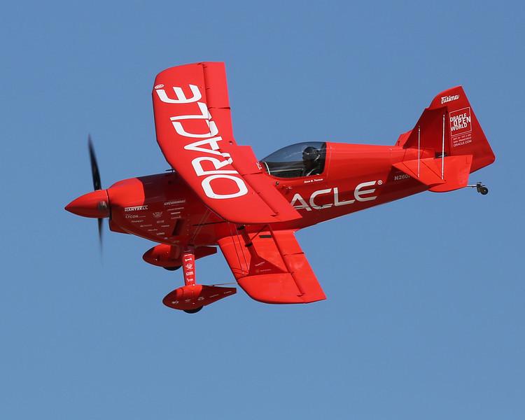 Sean D. Tucker in his Challenger III biplane