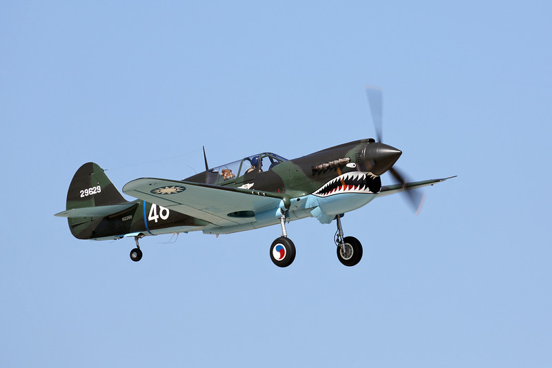 CURTISS WRIGHT P-40N at the EAA Air Adventure 2012 in Oshkosh