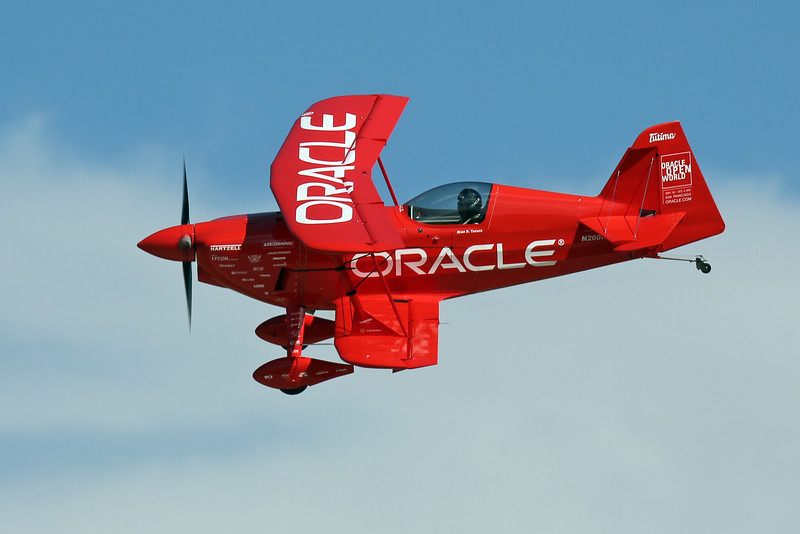 Sean D. Tucker in his Challenger III biplane at the EAA Air Adventure 2012