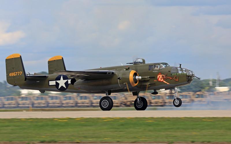 "North American B-25J ""Georgie's Gal"""