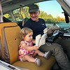 Keziah Joy takes her co-pilot responsibility seriously