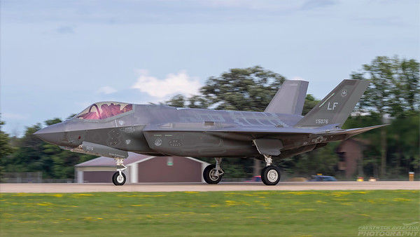 13-5076. Lockheed Martin F-35A Lightning II. USAF. Oshkosh. 260718.