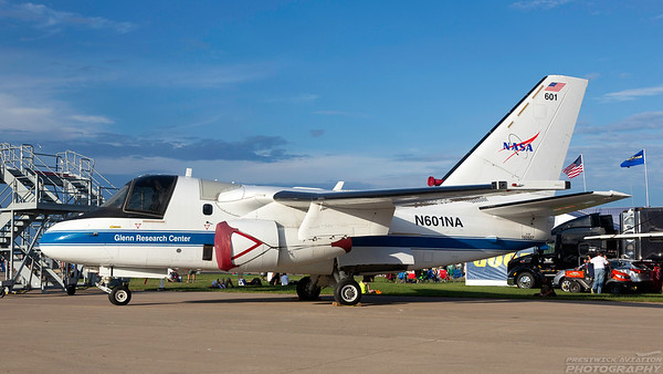 N601NA. Lockheed S-3B Viking. NASA. Oshkosh. 250718.
