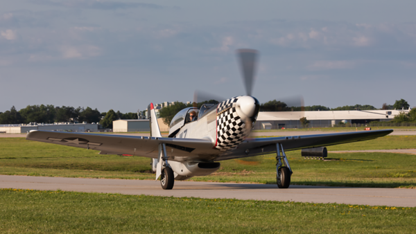 67-14866. North American TF-51D Mustang. USAAF. Oshkosh. 210719.