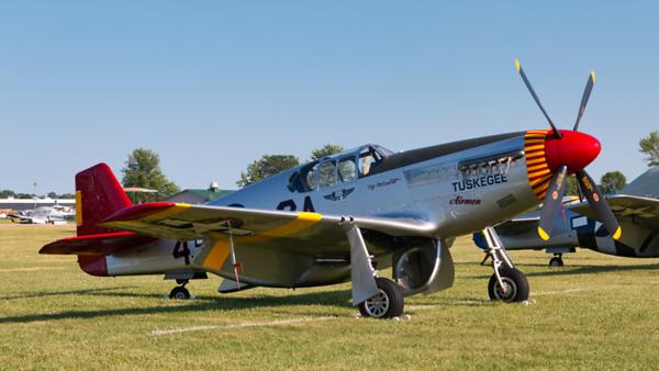 42-103645 (NL61429). North American P-51C Mustang. USAAF. Oshkosh. 230719.