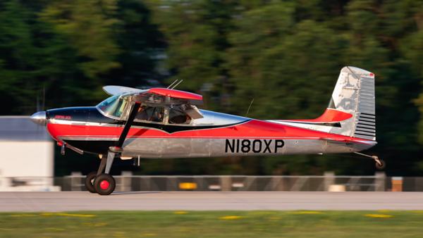 N180XP. Cessna 180 Skywagon. Private. Oshkosh. 220719.