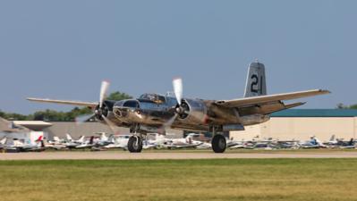 NL26BP. Douglas B-26K Invader. Conair. Oshkosh. 240719.