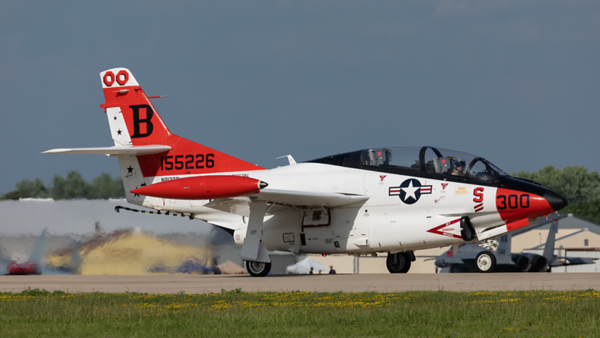 155226. North American T-2 Buckeye. US Navy. Oshkosh. 270719.