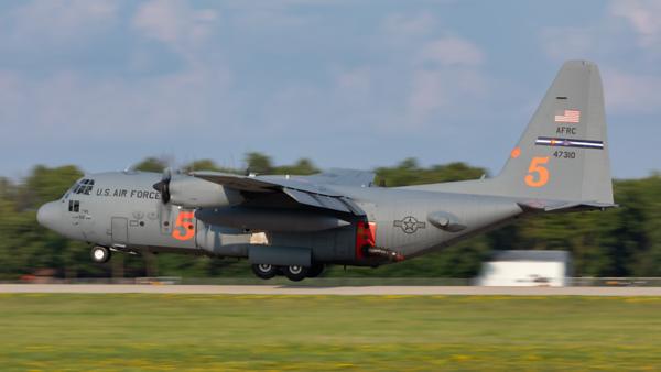 94-7310. Lockheed C-130H Hercules. USAF. Oshkosh. 250719.