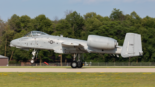 81-980. Fairchild Republic A-10 Thunderbolt II. USAF. Oshkosh. 230719.