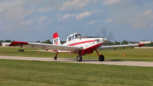 N474H. Air Tractor AT-802. Private. Oshkosh. 230719.
