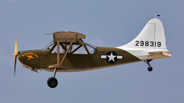 298319 (N64669). Stinson L-5 Sentinel. US Army. Oshkosh. 240719.