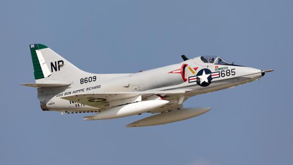 148609. Douglas A-4B Skyhawk. US Navy. Oshkosh. 250719.