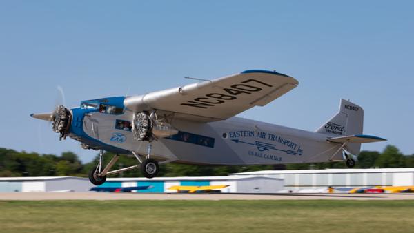 NC9645. Ford Tri-Motor. Eastern Air Transport. Oshkosh. 230719.