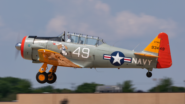 N29931. North American AT-6G Texan. US Navy. Oshkosh. 240819.