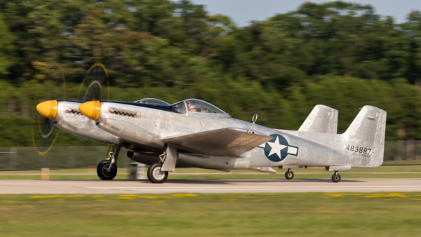 483887. North American XP-82 Twin Mustang. USAAF. Oshkosh. 230719.