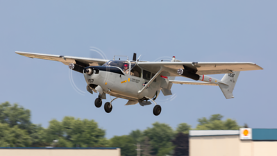 N202A. Cessna O-2A. USAF. Oshkosh. 240719.