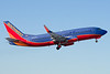 Southwest 737 taking off from runway 35.