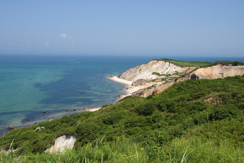 Gay Head cliffs.