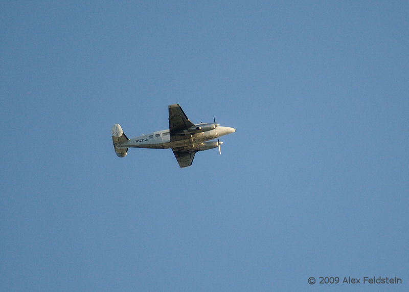 Beech 18<br /> Sorry for the quality but it's a decent crop as it was far away. I only had 300mm and it was rare enough to show.