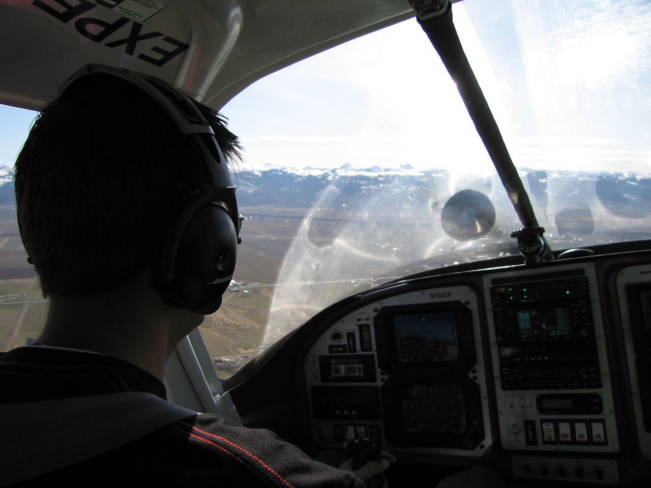 Approach for landing