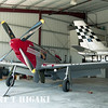 p-51- the D model; note that is the tail end of F-86 sabre jet
