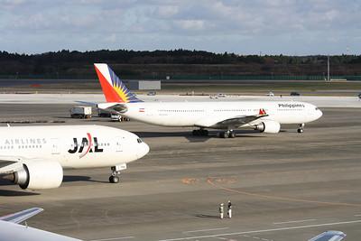 RP-C3337 PHILIPPINES A330-300  JA704J JAPAN AIRLINES 777-