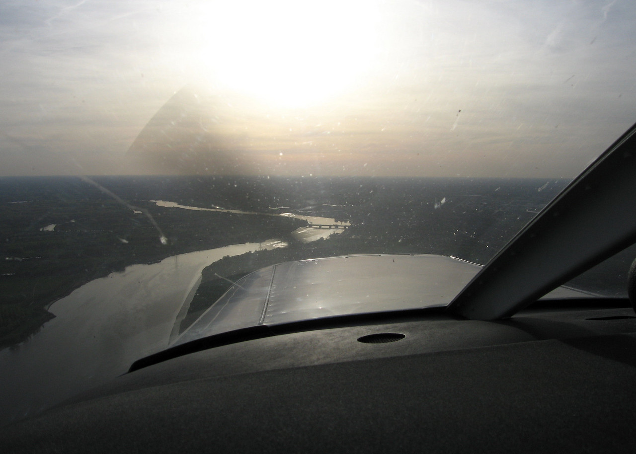 Bridge of Temse, also known as 'Tango' for VFR pilots. One of my favourite waypoints.