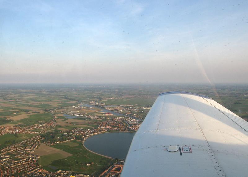 Return flight from Ostend.