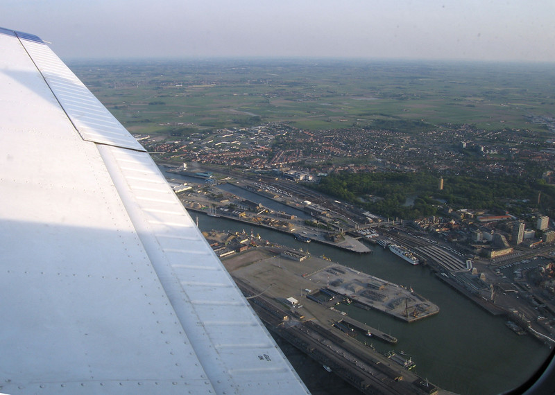 Return flight from Ostend.
