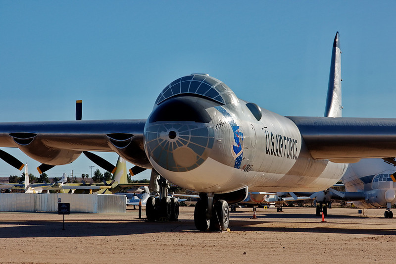 B36J Peacemaker - early 1950's era cold war bomber.