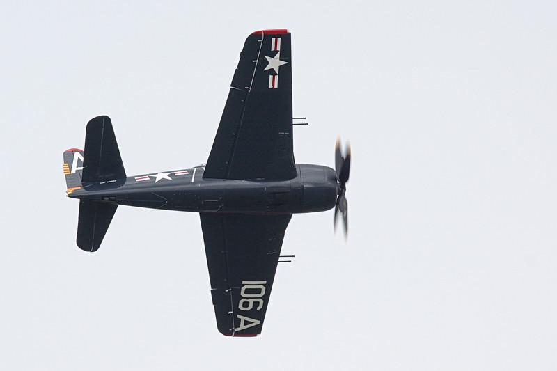 F8F Bearcat from the Historic Flight Foundation