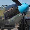 Ilyushin Il-2M3 Shturmovik - spot the bullet holes?  There's one on the other side as well.