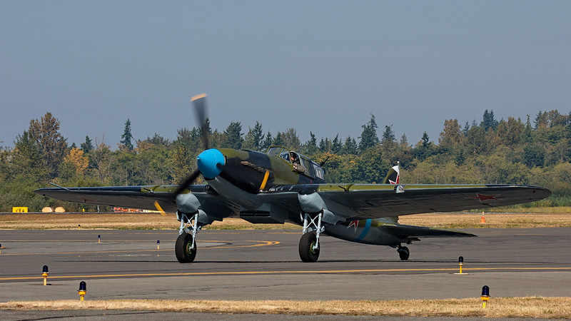 Ilyushin Il-2M3 Shturmovik at Flying Heritage Collection