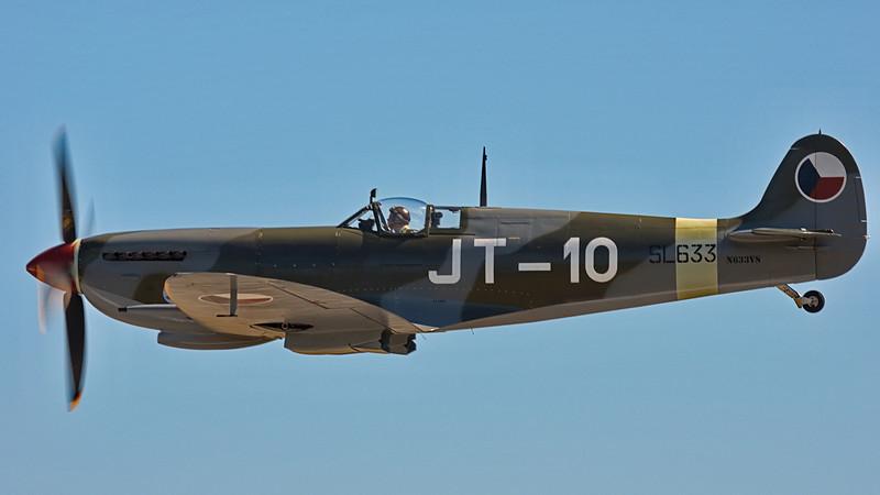 Supermarine Spitfire Mk. IXe (historicflight.org) at Paine Field, Everett WA