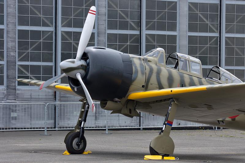 FHC WWII Japanese Zero Mitsubishi A6M3-22 Reisen - preflight.