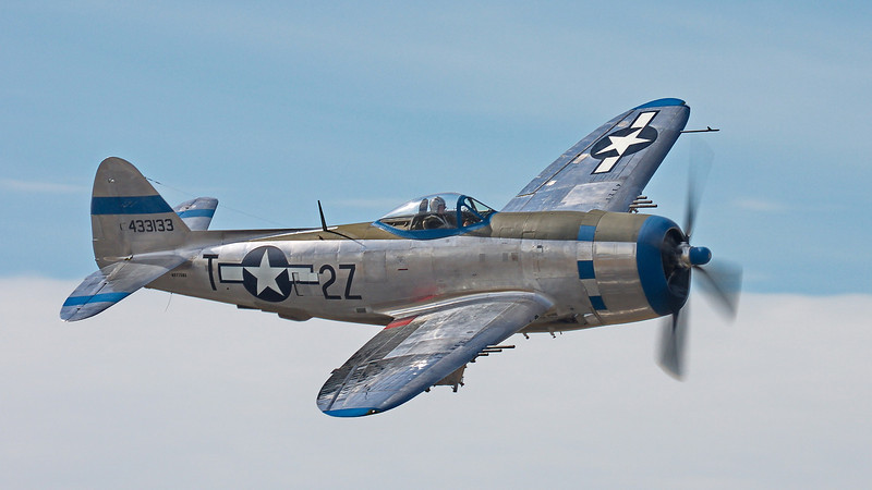 """P-47D """"Tallahassee Lassie"""" at FHC Paine Field"""