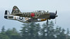 "WWII Japanese Zero Mitsubishi A6M3-22 Reisen with P51-D Mustang ""UPUPA EPOPS""."