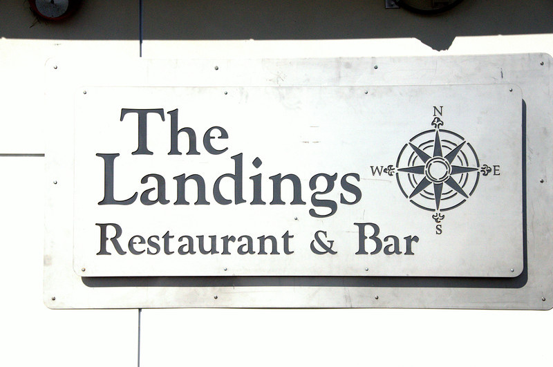 The Landings - an airport restaurant at McClellan-Palomar airport, attracts a crowd daily with its delicious menu offerings.